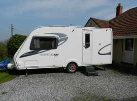 Sterling 2009 Eccles Special 90th Edition Topaz Two Berth Caravan