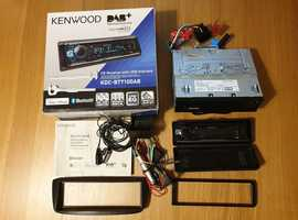 KENWOOD CITROEN C1 2012 Car DAB-CD Receiver with USB and Hands-free (Used-Good condition)