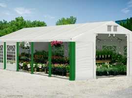 6x10m Marquee Garden Tent Party PVC Heavy Duty Waterproof