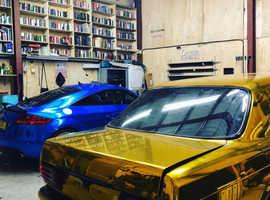 Window Tinting & Car Wrapping