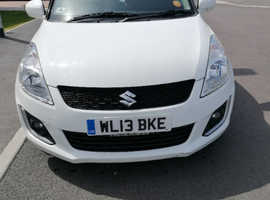 Suzuki Swift, 2013 (13) White Hatchback, Manual Petrol, 54,100 miles