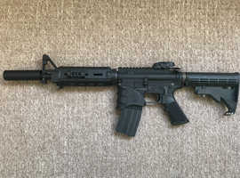 WE M4 GBBR open bolt with Npas