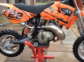 KTM  SX 50cc REV AND GO