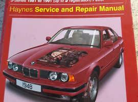 2x 3 & 5 series BMW Haynes manuals