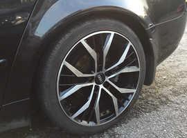 Audi A4, 2007 (56) Black Saloon, Manual Diesel, 141,000 miles