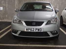 Seat Ibiza, 2012 (62) Silver Hatchback, Manual Petrol, 85,503 miles