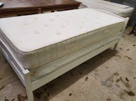 Single Trundle Bed with head & foot boards