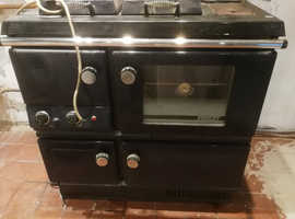 Stanley oil fired cooker and boiler