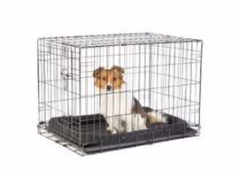 NEW PETS AT HOME SIZE SMALL DOG CRATE