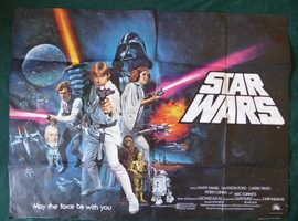 STAR WARS Original Vintage Film Poster