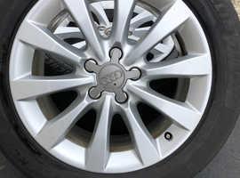 """17"""" Audi A6 Alloy Wheels + Michelin Tyres"""