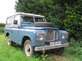 Mk1 Land Rover breaking for spares