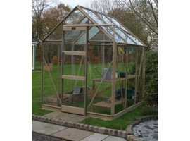 """Elite"" high eave, high spec greenhouse"
