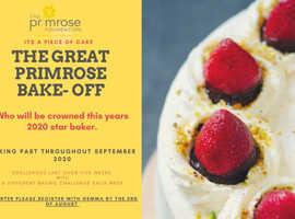 THE GREAT PRIMROSE BAKE OFF