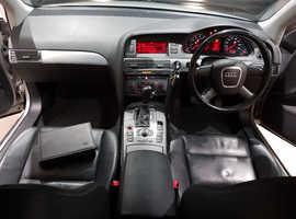 Audi A6, 2004 (54) Silver Saloon, Cvt Petrol, 111,000 miles