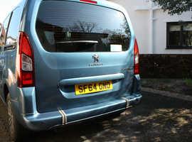Peugeot Partner Tepee, 2014 (64) blue MPV, Manual Petrol, 13070 miles very good condition