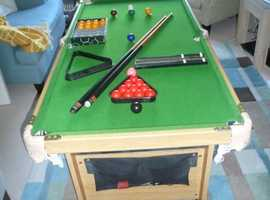 Snooker table 4' 6''