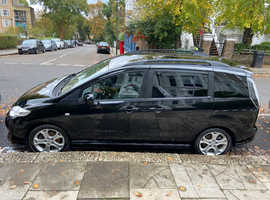 Mazda 5, 2010 (10) Black MPV, Manual Petrol, 81,300 miles