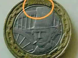 Error £2 coin