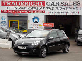 Renault Clio, 2012 (12) Black Hatchback, Manual Petrol, 73,054 miles