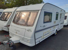 2004 Coachman VIP 520, luxury 4 berth caravan, motor mover, awning & free extras, serviced, ready to use now