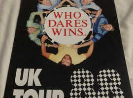 Who Dares Wins 1988 Tour Guide Programme