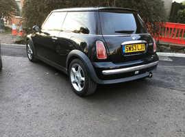 Mini MINI, 2004 (53) Black Hatchback, Manual Petrol, 123,213 miles