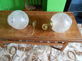 Deco glass hanging celling gallery lantern lamp light