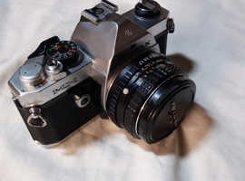 Pentax MX with 50mm f1.7 lens