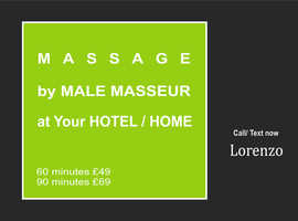 ... MASSAGE - Service ... by MALE Masseur to U`r HOTEL HOME in London