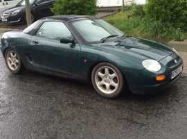 MG Mgf, 1996 (N) Green Sports, Manual Petrol, 16,000 miles
