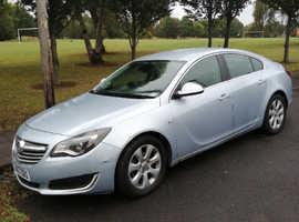 Vauxhall Insignia, 2013 (63) Silver Hatchback, Manual Diesel, 200,000 miles