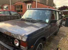 Land Rover RANGE ROVER VOGUE EFI A, 1991 (H) Blue Estate, Manual Petrol, 148,965 miles