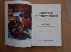 REFERENCE HARDBACK BOOK LAROUSSE GASTRONOMIQUE YEAR 1961.