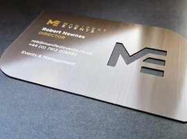 METAL BUSINESS CARDS