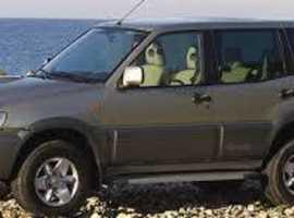 Nissan Terrano, 2004 (54) Gold 4x4, Manual Diesel, 70,000 miles