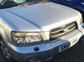 Subaru Forester, 2004 (54) *MOT FAILURE* Silver Estate, Automatic Petrol, 107,000 miles