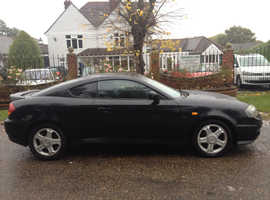 HYUNDAI COUPE 2003 MOT 10 MONTHS LEATHER INTERIOR CHEAP CAR THAT DRIVES AND LOOKS GOOD