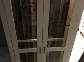Refurbished glass fronted display cabinet/dresser