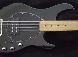 Musicman Sterling 4 H Bass Guitar 2007 Black
