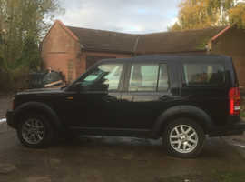 Land Rover Discovery, 2007 (07) blue estate, Manual Diesel, 181,000 miles