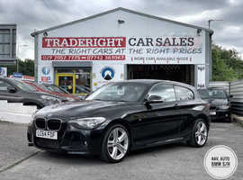 2014/64 BMW 120d 2.0 M-Sport Automatic finished in Black Sapphire Metallic. 41,267 miles