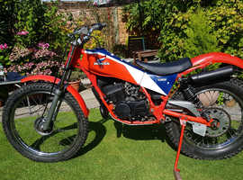 Honda TLM50 Trials Bike