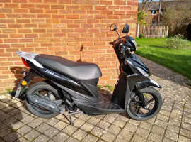 Suzuki address 110 - less than 5000 miles - ONO