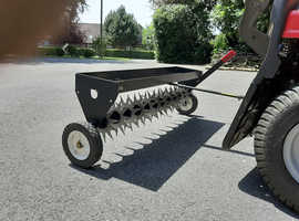 """Brinly-Hardy 40"""" tow-behind spike aerator"""