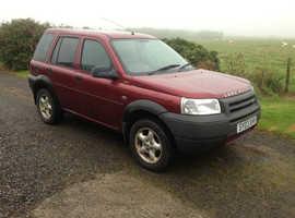 Land Rover Freelander, 2003 (03) Red Estate, Manual Diesel, 104,905 miles