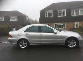 Mercedes C CLASS, 2005 (05) Silver Saloon, Automatic Petrol, 125,000 miles