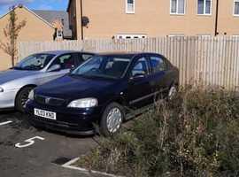 Vauxhall Astra, 2003 (03) Blue Hatchback, Manual Petrol, 120,000 miles