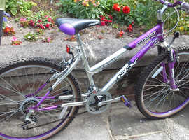 Ladies sport bike