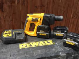 Dewalt nail gun and sds drill